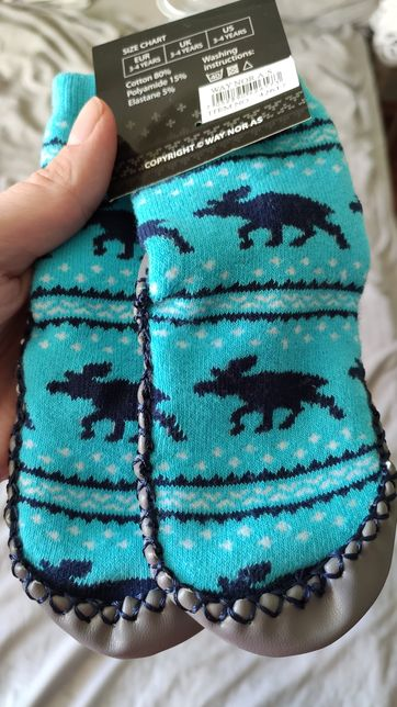 Носки с подошвой, носки-чешки 14 см