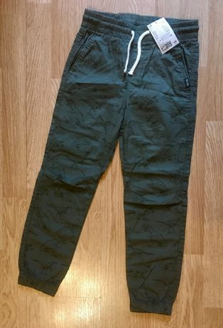 Классные брюки, штаны, джоггеры для мальчика H&M, размер 6-7 л,116-122