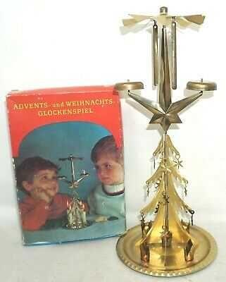 Металлическая ёлочка ГДР Advents- und Weihnachts Glockenspiel куранты