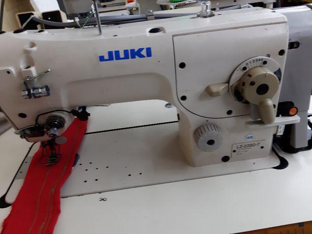 maszyna do szycia JUKI LZ 2280n-7 automat szwalnicza krawiecka