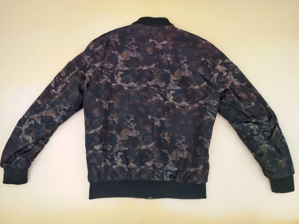 Стильный Бомбер мужская куртка ветровка осень демисезон милитари