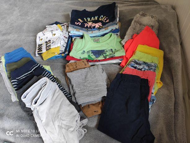 Zestaw letnich ubranek Zara, H&M, Reserved i inne