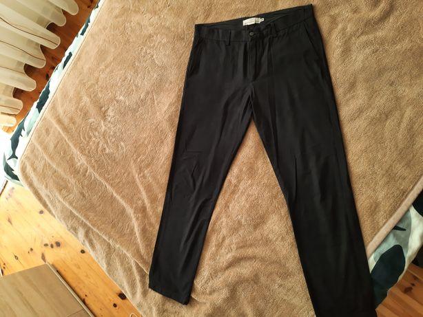 Eleganckie Męskie czarne spodnie/jeansy H&M (nie reserved, zara,bersha