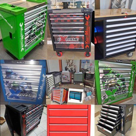 Carros de ferramentas de 7 gavetas / mais modelos disponíveis
