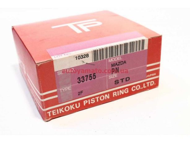 Кольца поршневые, комплект Tp 33755-STD