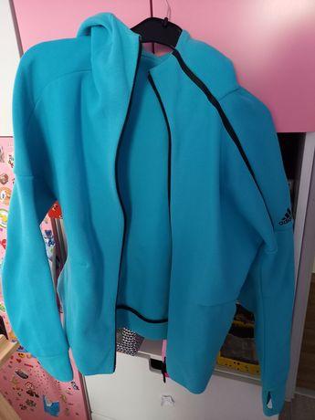 Bluza niebieska Adidas L/XL