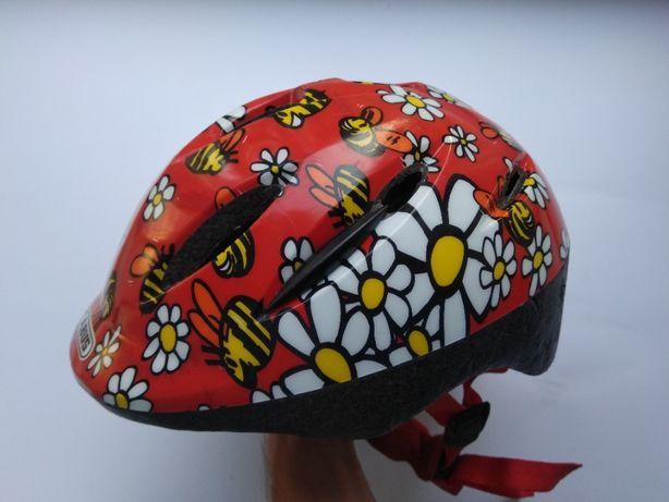 Детский шлем Abus Smooty, размер 45-50см, велосипедный, для роликов.