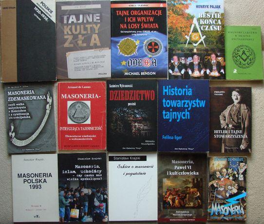 Masoneria wolnomularstwo - książki