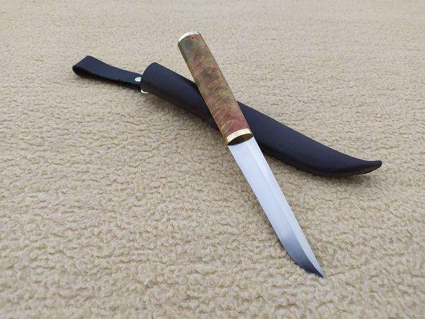 Nóż custom ręcznie robiony puukko