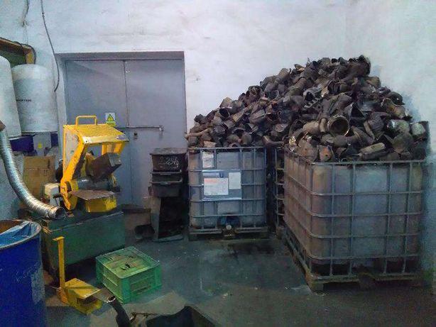 Zakład przerobu i recyclingu katalizatorów samochodowych - skup