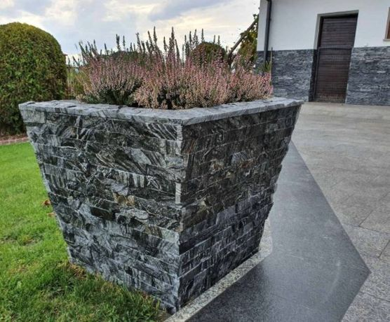 Panel Ścienny Pasy 15x60x1,5cm Naturalny Kamień Elewacyjny