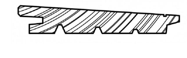 Deska Elewacyjna Diagonal Świerk Syberyjski