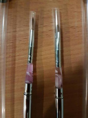 Pędzelki pędzel do żelu i akrylu. Żel, akryl 4 mm 6 mm