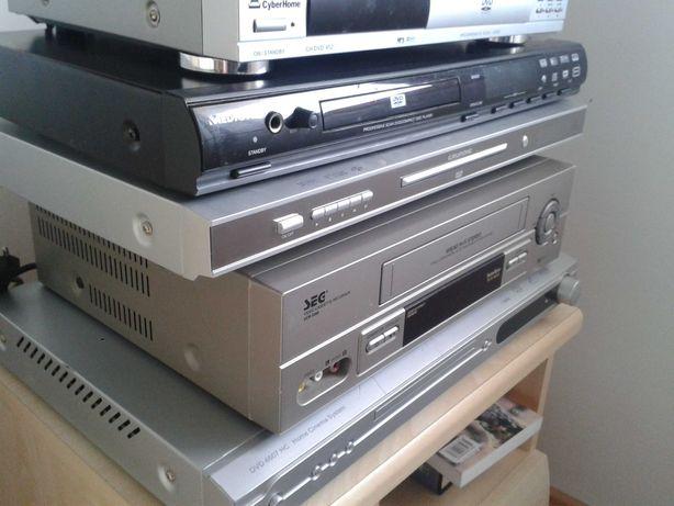Odtwarzacz DVD VHS pakiet