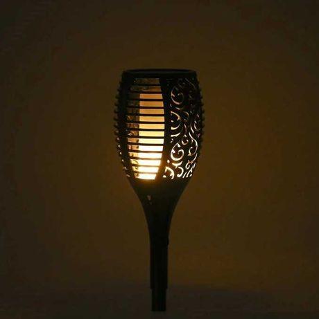 Ogrodowa lampa solarna 50 cm. 4 sztuki.cena z wysyłką