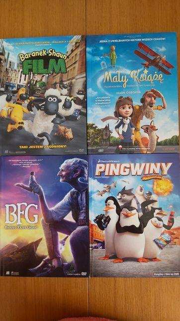 DVD Pingwiny z Madagaskaru BFG Baranek Shaun