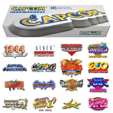 Konsola CAPCOM Home Arcade Street Fighter,Mega Man,Progear,retro