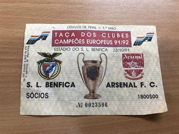 Taça dos Clubes Campeões Europeus 91/92