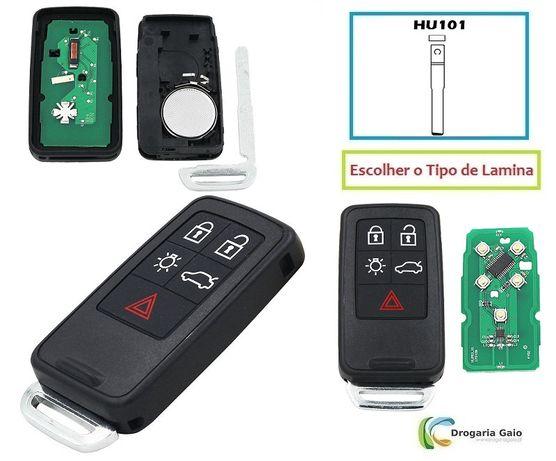 Volvo Comando Smart Key 5 Botões 433mhz
