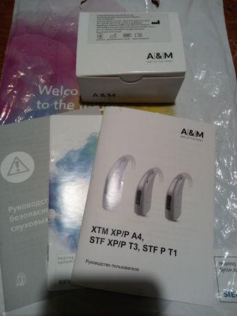 Слуховий апарат A&M(HA STF XP T3 BG)