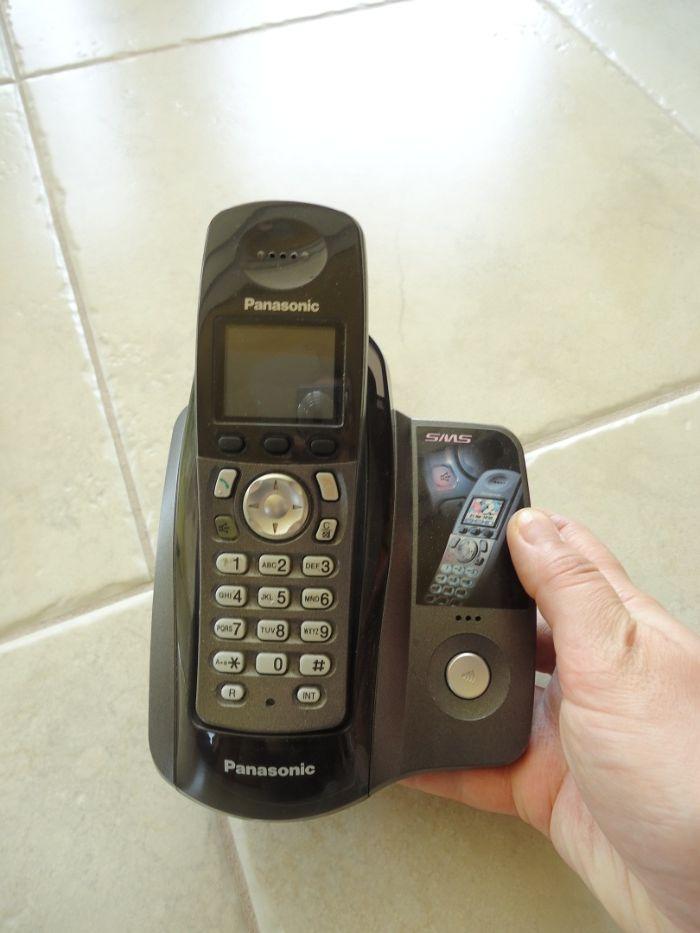 Telefon stacjonarny bezprzewodowy Panasonic Starogard Gdański - image 1