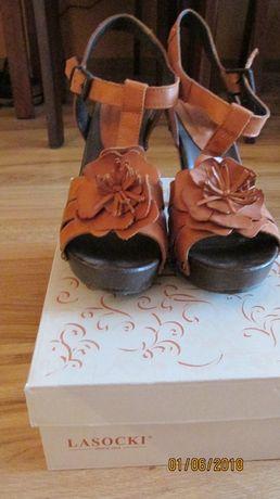 Lasocki Drewniaki Sandały