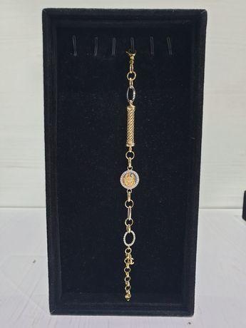 **Nowa złota bransoletka p.585-lombard stówka