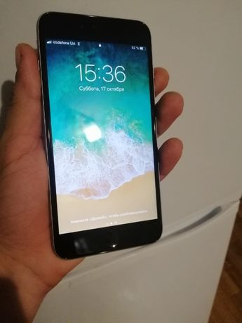 iphone 6 s plus 16 g идеал + чехол в подарок