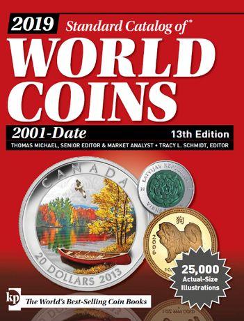 Всемирные каталоги монет и банкнот Краузе (1601-2019)