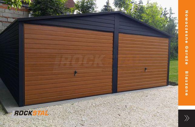 Garaż blaszany - blaszak - garaż metalowy - Rock Stal Producent