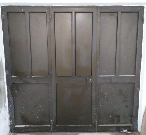 Portao de aluminio tri-partido