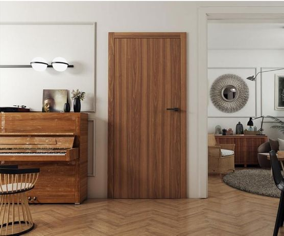 Drzwi ASILO Linate bezprzylgowe, fornir naturalny, PROMOCJA na montaż