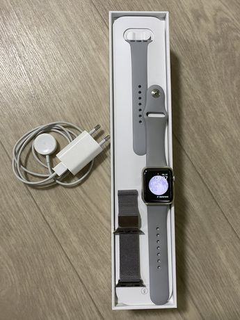 Apple watch 3 38mm 3 GPS Silver Alluminium Case