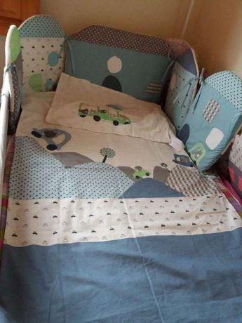 Contorno para protecção de cama de grades NOVO