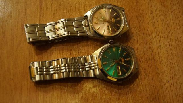 Orient Crystal 21 jewels 2szt kolor cyferblatu złoty i zielony
