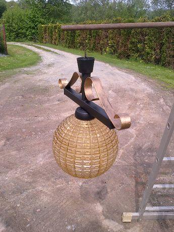 Lampa do altana-ogród