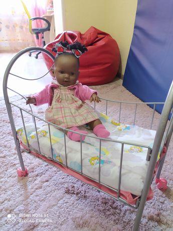 Кукла с кроваткой. Лялька з ліжком.
