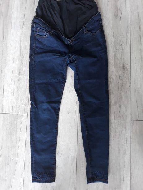 Ciążowe spodnie jeansowe r 38