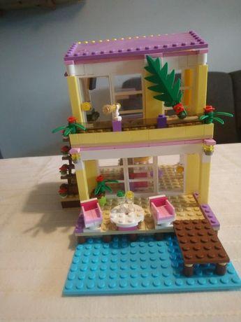 lego friends 41037 letni dom na plaży Stephanie