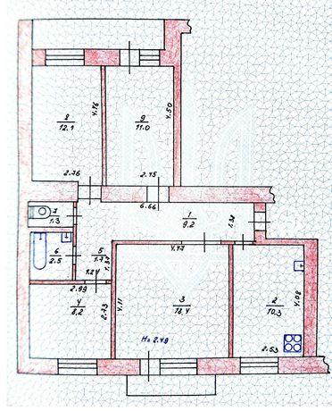 Продам 4х-комнатную квартиру