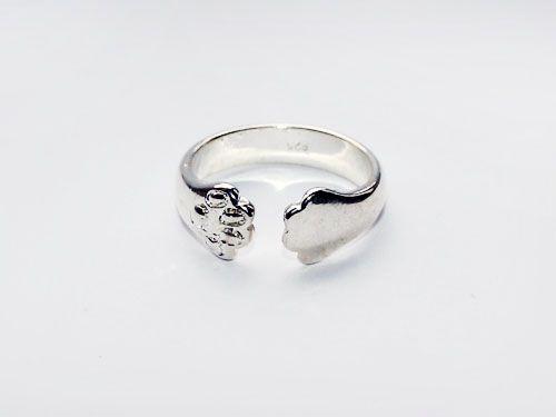 Nowy pierścionek - kocie łapy :) Możliwość wysyłki :)