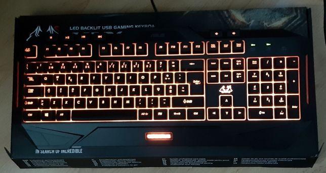 Teclado Gaming Asus Cerberus MKII Versão RGB