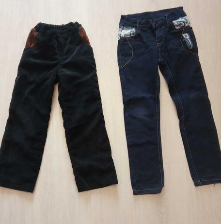 Вельвети і джинси на 6-7р