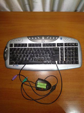 Клавіатура бездротова (беспроводная клавиатура)