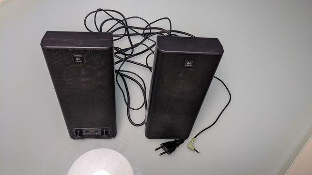 Colunas de som Logitech computador PC