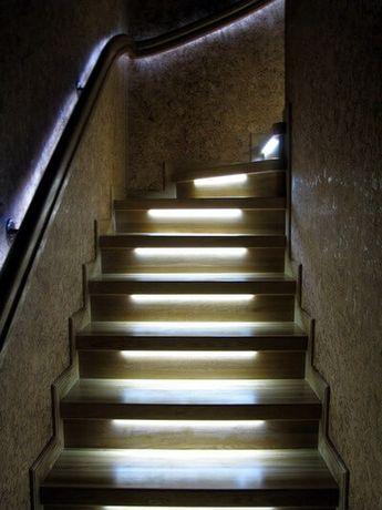 Автоматическая подсветка лестницы LED