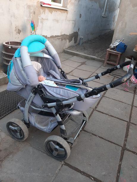Продам детскую польскую коляску Adamex Patrol 3 в1