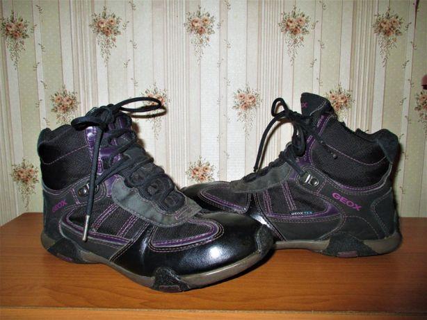 Ботинки Ecco geox Clarks, 34 размер, стелька 22,5 см, кожа
