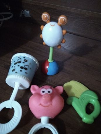 Развивающие игрушки, одним лотом