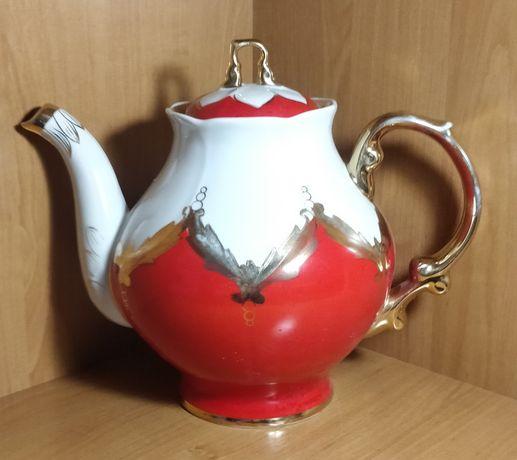 Чайник фарфоровый СССР